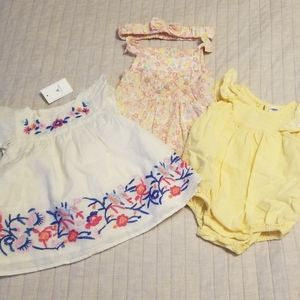 Baby Girl 0-3 Outfits